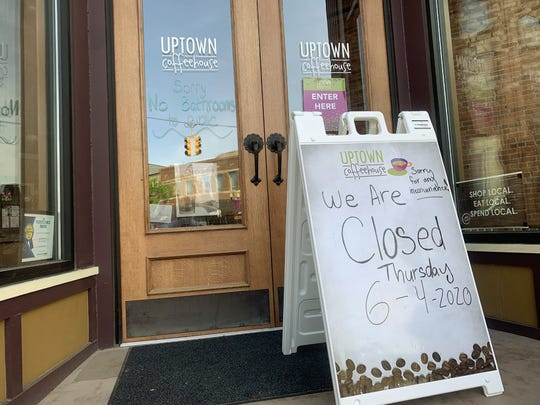 Some local businesses in downtown Howell, Michigan made the decision to close June 4, 2020, as word of a potentially violent protest was coming to the town. A small group of people protesting against police brutality and racism did come out to hold signs and rally.