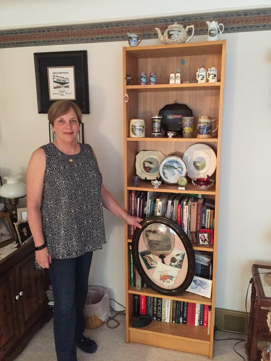 Sue Schuldeis has long loved visiting Niagara Falls, and she has the collection to prove it.