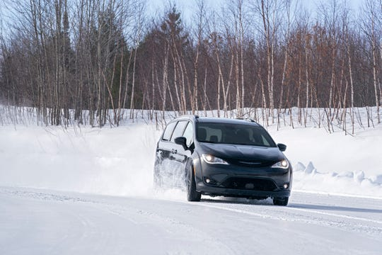 The 2020 Chrysler Pacifica is now available with all-wheel drive.