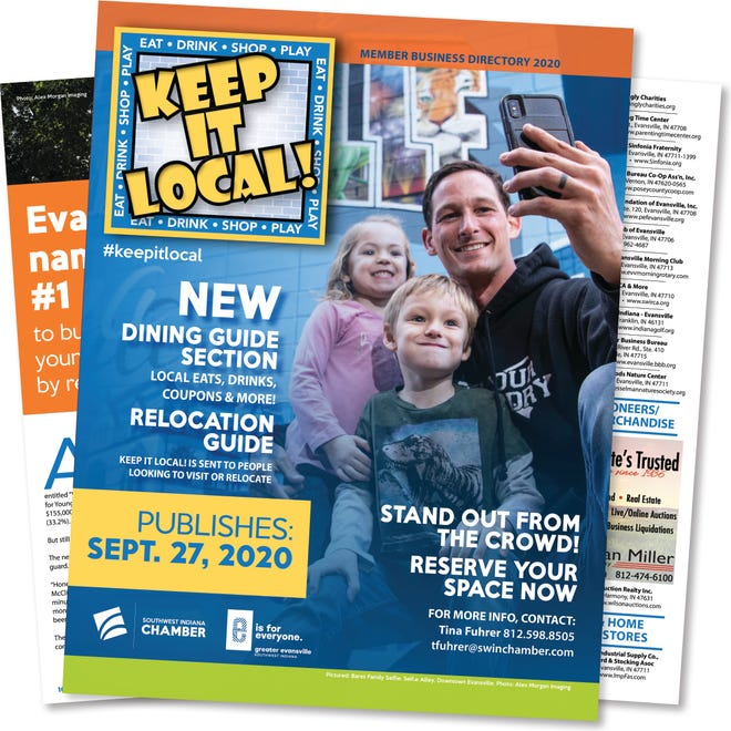 Keep it Local guide from the Chamber.
