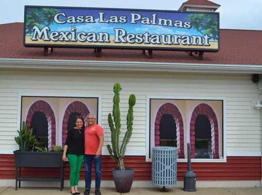 Camilo Rayo, who co-owns Casa Las Palmas Mexican restaurant in Port Clinton, and Kelley Kurtz married in a window wedding on the porch at Ottawa Riverview Health Care Campus so that Kelley's grandmother, Dorothy Kurtz, could attend the ceremony. COVID-19 restrictions wouldn't allow them to be in the same room, so Dorothy watched the ceremony through a window.