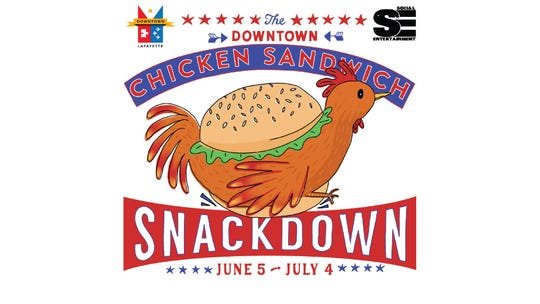 Downtown Chicken Sandwich Snackdown, a month-long competition hosted by Downtown Unlimited, is seeing who makes the best, local chicken sandwich. And raising money for the nonprofit.