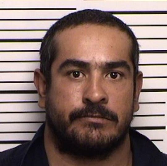Jorge Molina of Artesia allegedly ran through seven stop signs during a traffic chase last year in Artesia.