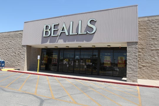 Bealls offers liquidation sales to customers after its corporate owner Stage Stores filed for bankruptcy in March, June 4, 2020 in Carlsbad.