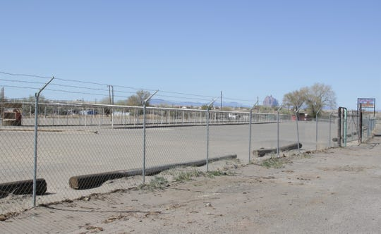 Begaye Flea Market is pictured on April 25 in Shiprock during a weekend lockdown for residents on the Navajo Nation. Tribal President Jonathan Nez signed an executive order to end the restriction for residents.
