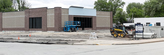Construction of an Advance Auto Parts store Friday, May 29, 2020 at 2116 Jackson Street in Oshkosh Wisconsin. Doug Raflik/USA Today NETWORK-Wisconsin
