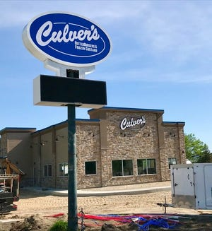 A new Culver's franchise plans to open at 4280 24th Ave. in Fort Gratiot Township on July 13, 2020.