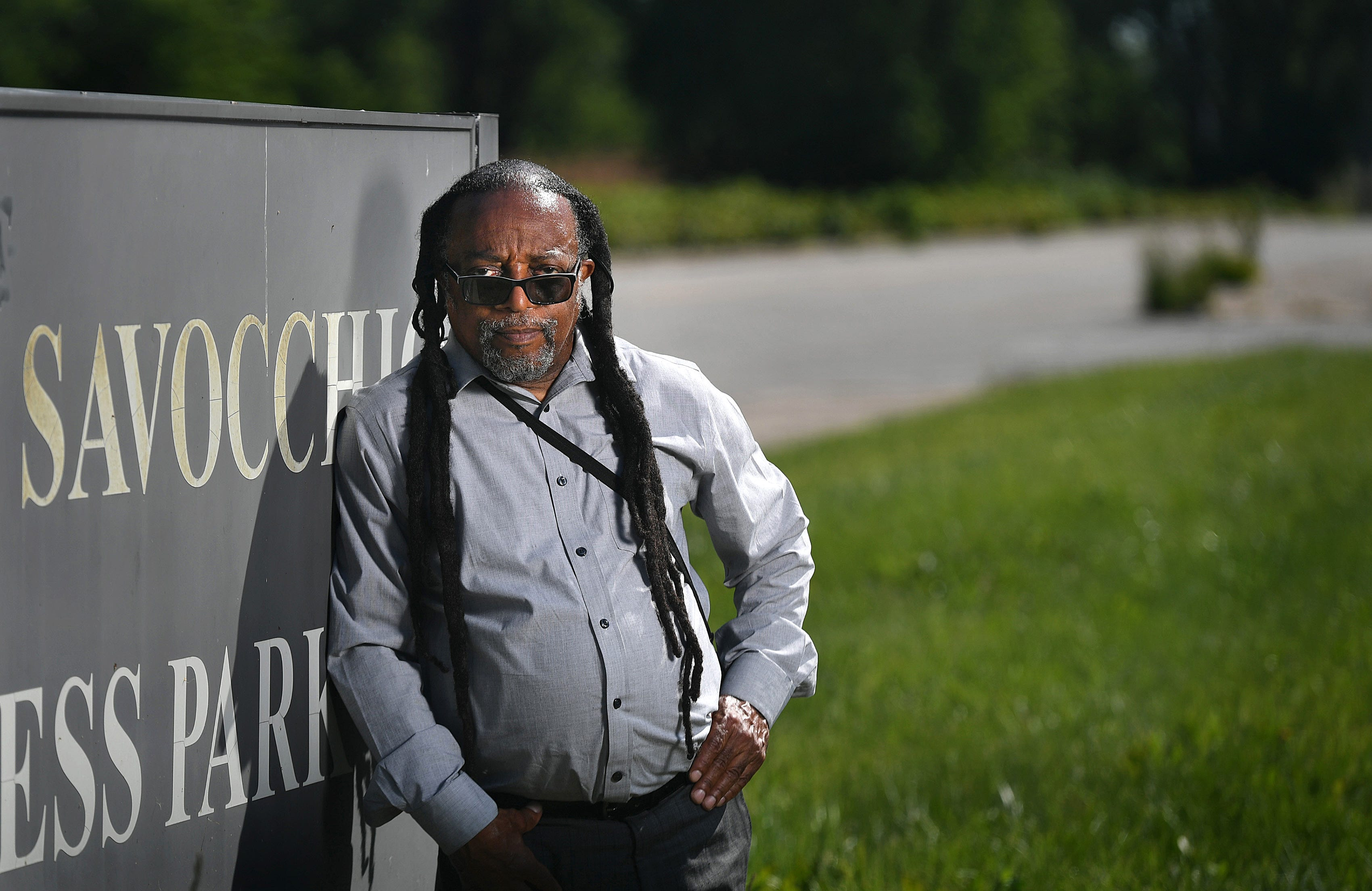 Gary Horton, 68, president of the Urban Erie Community Development Corp., is part of a group that wants to develop one of the poorest neighborhoods in Erie, Pennsylvania, into a health and wellness center, an urban farming facility and a solar panel network on the 25-acre Savocchio Park property.