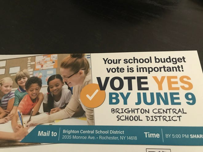 A mailer from NYSUT to Brighton home owners.