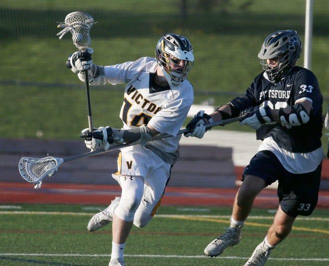 Ryan Maloney led Victor's 2016 team with 60 goals and 108 points.