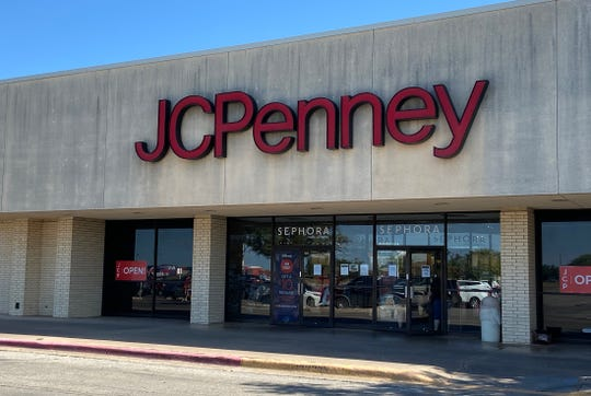 The J.C. Penney store in San Angelo, seen here in this Thursday, June 4, 2020 photo, will not close due to the retail giant's Chapter 11 bankruptcy restructuring plan.
