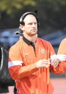 Ryan Evans is the new head football coach at Washington High School.