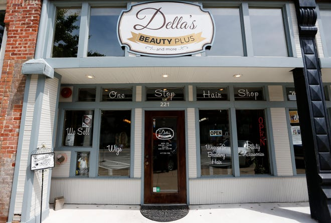 Della Gardner owns Della's Beauty Plus, at 221 East Commercial Street.