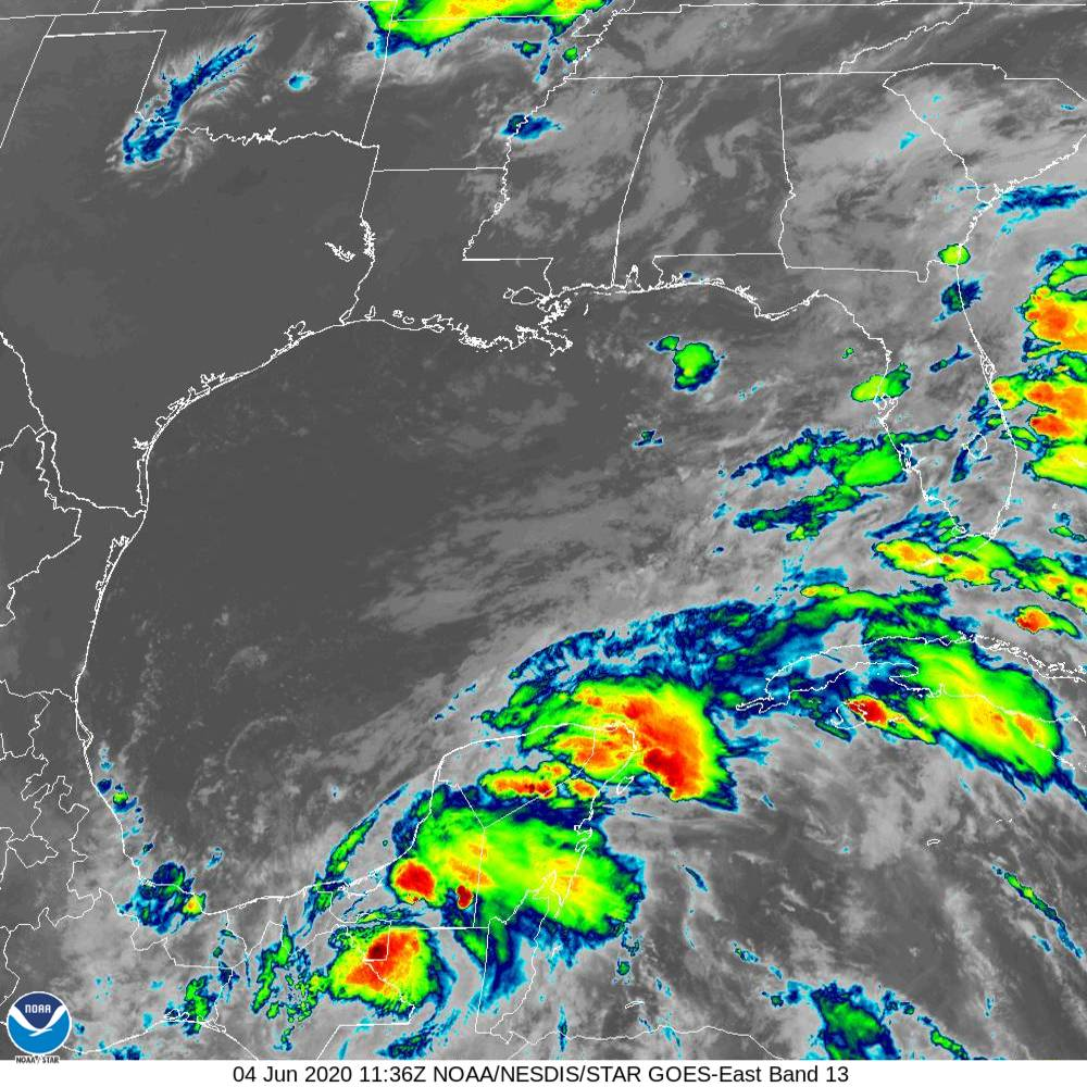 Tropical Storm Cristobal could hit US late this weekend after strengthening in Gulf of Mexico