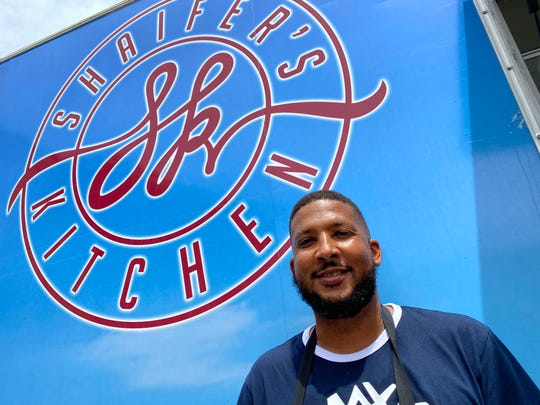 Julius Shaifer is the owner of the Shaifer's Kitchen food truck.