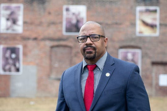 City of Newburgh Mayor Torrance Harvey in Newburgh, NY on June 3, 2020. ALLYSE PULLIAM/For the Times-Herald Record