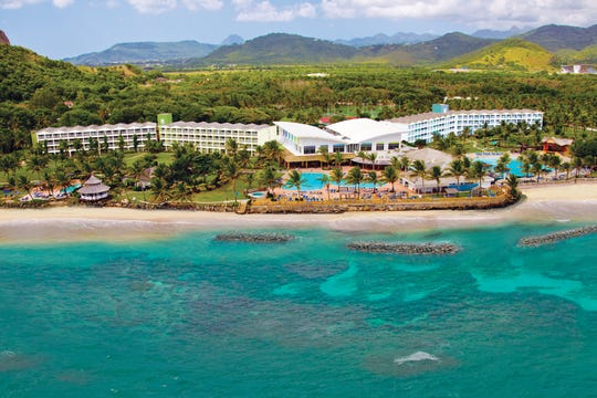 In Saint Lucia, Coconut Bay Beach is a 250-room all-inclusive for families.