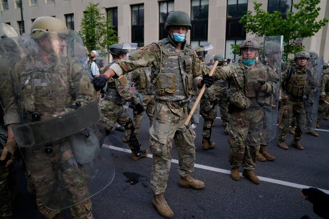 White House protests: Military troops raise questions of control in DC