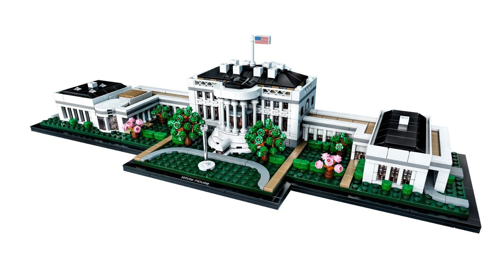 Lego pauses advertising for police and White House products  in response to events in the US