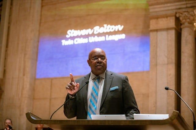 Urban League President Steven Belton