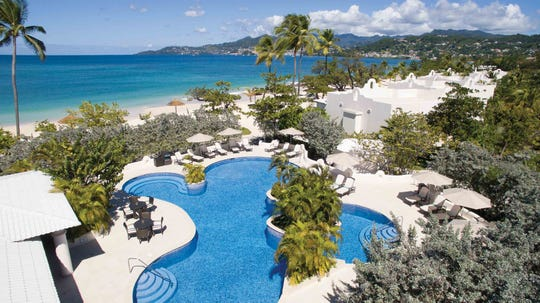 On Grande Anse Beach in Grenada, Spice Island Beach Resort reopens on Nov. 1.