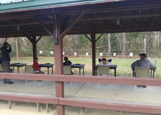 The BB and archery range at Quail Hill Scout Reservation in Manalapan is an option for Scout families this summer.