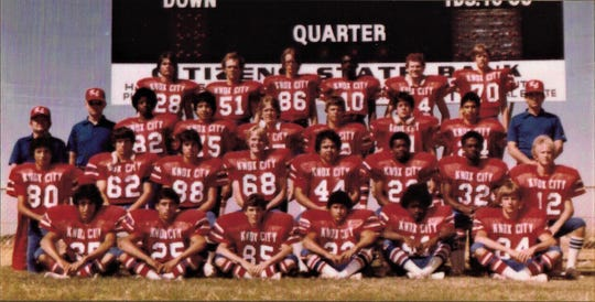 C.H. Underwood was an assistant coach for the 1983 Knox City team that won the Class 1A 11-man football title.