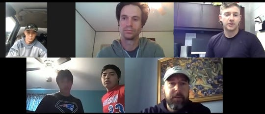 Madison High School baseball players Ransom Boone, Macean Metcalf, Daniel and Lorenzo Loredo, joined head coach Ronald Tipton and reporter Paul Moon for a Zoom call in May to talk about the lost season.