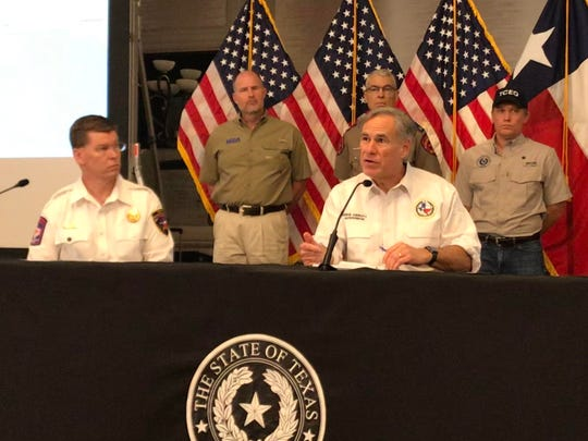 Gov. Greg Abbott on June 5, 2020, provided an update on Tropical Depression Cristobal, which was upgraded to a tropical storm.