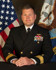 """Rear Adm. Robert """"Gimp"""" Westendorff became the new Chief of Naval Air Training at the Change of Command Ceremony on Friday, June 5."""