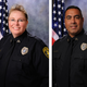 (from left) Detective Charla Hemerly, Detective Crispin Mendez, Senior Officer Alyssa Hernandez