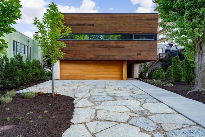 This custom-built house at 1059 Celestial St. in Mount Adams recently hit the market for about $3.2M