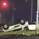 A Green Township police officer and another driver were hurt in this crash at North Bend and West Fork Road about 11:45 p.m. Thursday, police say. Both are expected to recover.