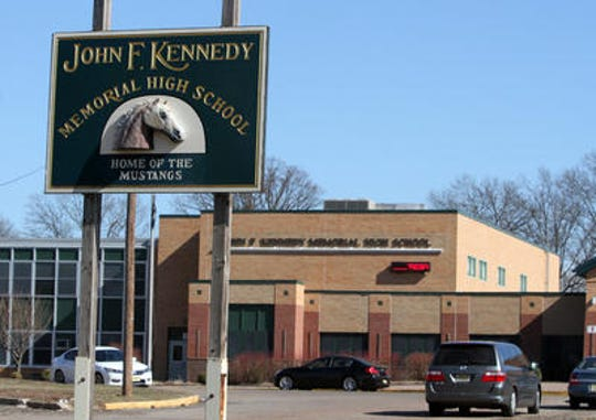 John F. Kennedy Memorial High School will hold a live graduation ceremony on July 8