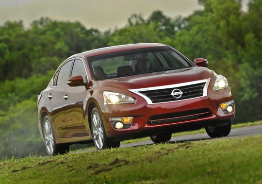 Nissan's latest recall covers nearly 1.9 million Altimas and includes cars from the 2013, shown, through 2015 model years that were recalled earlier.