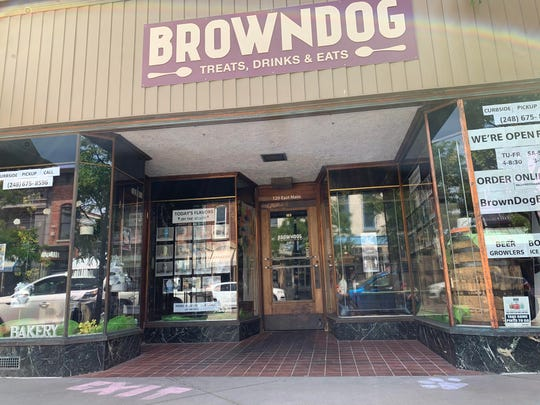 Brown Dog in Northville has ice cream treats of all kinds, including boozy milkshakes.