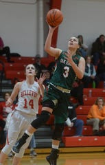 Andrea Cecil is Oak Harbor's all-time leading scorer.