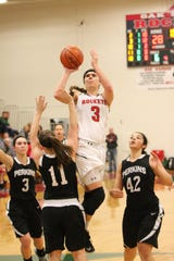Oak Harbor's Andrea Cecil can score in myriad ways.
