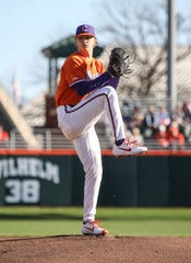 Sam Weatherly of Howell was a third-team All-America pitcher for Clemson University in 2020.
