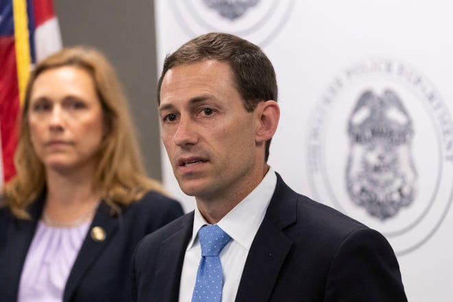 U.S. Attorney Matthew Krueger says federal agents are coming to Milwaukee to assist with fighting rising crime, not in response to civil unrest, as part of the federal Justice Department's Operation Legend.