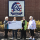 The Mountain Home Elks Lodge recently donated $500 to Gamma House, a nonprofit organization dedicated to offering shelter and assistance to homeless women and children to rehabilitate them back into the mainstream of life. Pictured are (from left) Sherie Brown, Elks president; Liz Smith, Gamma House Board member; Janet O'Connor, Gamma House Director; and Lana Ellibee, Elks grant coordinator.