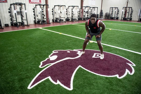 Prattville's Ian Jackson poses for a portrait at Prattville High School in Prattville, Ala., on Wednesday, June 3, 2020.