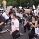 Protesters shut down Route 4 in Teaneck June 5, 2020.