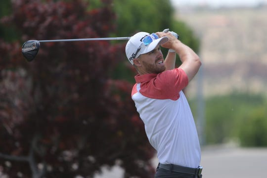 Sam Saunders, seen here playing in the 2019 San Juan Open on Thursday June 20, 2019, at San Juan Country Club in Farmington, is glad the 2020 San Juan Open will take place right before the New Mexico Open in his hometown of Albuquerque.