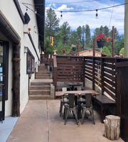 Patio dining at the Hunt and Harvest in midtown Ruidoso began on May 28.
