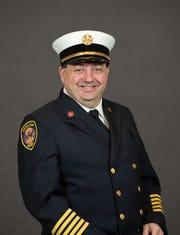 South Lyon Fire Chief Robert Vogel