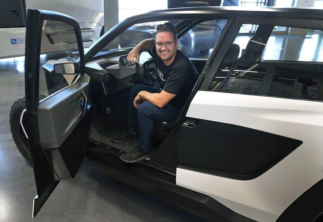Trevor Milton, Nikola Motor executive chairman, is now Arizona's newest billionaire after the IPO. Milton is sitting in the NZT.