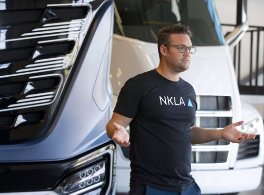 Trevor Milton, Nikola Motor executive chairman, is now Arizona's newest billionaire after the IPO.