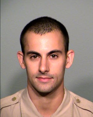 Las Vegas Police Officer Shay Mikalonis.