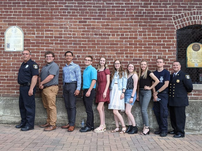 Graduates of a pair ofRichmond Area Career Center programs run by the Richmond Fire Department were celebrated during a banquet on Wednesday evening at theStarr Gennett Building.